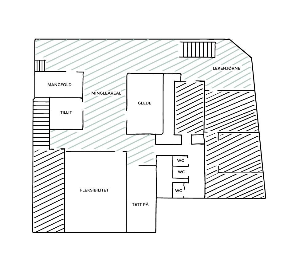 Bydelshuset_plantegning_Storsalen-underetasje